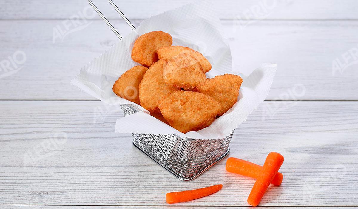 Nuggets de pollo. ALFRIO ultracongelados